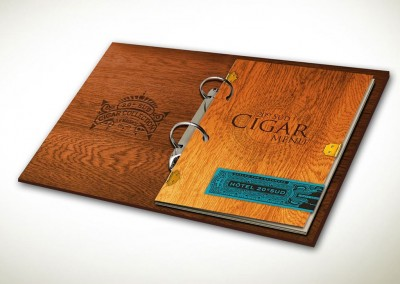 20º Sud Cigar Menu