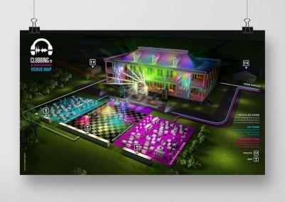 LET Clubbing 3D Map